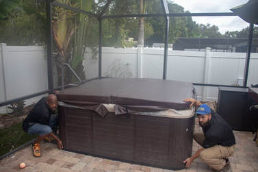 Hot Tub and Spa Removal St Petersburg FL